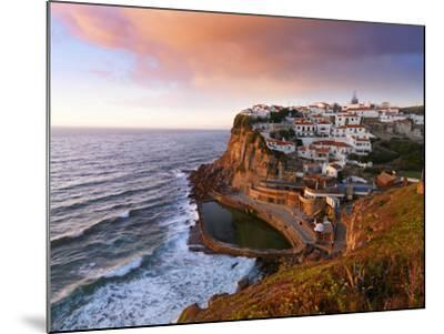 Portugal, Sintra, Azehas Do Mar, Overview of Town at Dusk-Shaun Egan-Mounted Photographic Print
