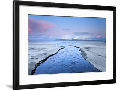 United Kingdom, Uk, Scotland, Highlands, Blue Dawn at Eigg Island-Fortunato Gatto-Framed Photographic Print