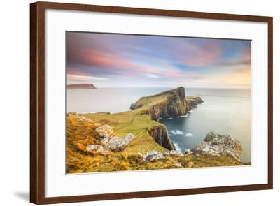 United Kingdom, Uk, Scotland, Inner Hebrides, the Cliffs of Neist Point-Fortunato Gatto-Framed Photographic Print