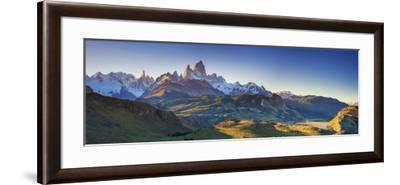 Argentina, Patagonia, El Chalten, Los Glaciares National Park, Cerro Torre and Cerro Fitzroy Peaks-Michele Falzone-Framed Photographic Print