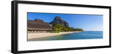 Beachcomber Paradis Hotel, Le Morne Brabant Peninsula, Black River (Riviere Noire), Mauritius-Jon Arnold-Framed Photographic Print