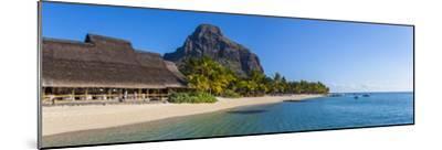 Beachcomber Paradis Hotel, Le Morne Brabant Peninsula, Black River (Riviere Noire), Mauritius-Jon Arnold-Mounted Photographic Print
