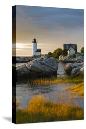 USA, Massachusetts, Gloucester, Annisquam, Annisquam Lighhouse-Walter Bibikow-Stretched Canvas Print