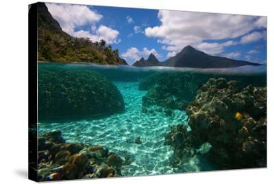 American Samoa, Manu'A Islands Archipelago, Ofu Island-Andrea Pozzi-Stretched Canvas Print