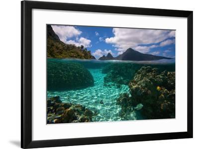 American Samoa, Manu'A Islands Archipelago, Ofu Island-Andrea Pozzi-Framed Photographic Print