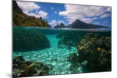 American Samoa, Manu'A Islands Archipelago, Ofu Island-Andrea Pozzi-Mounted Photographic Print