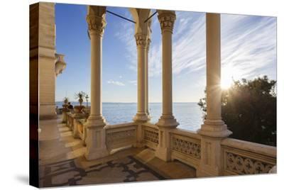 Italy, Friuli Venezia Giulia , Miramare Castle-Andrea Pavan-Stretched Canvas Print
