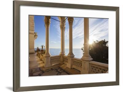 Italy, Friuli Venezia Giulia , Miramare Castle-Andrea Pavan-Framed Photographic Print