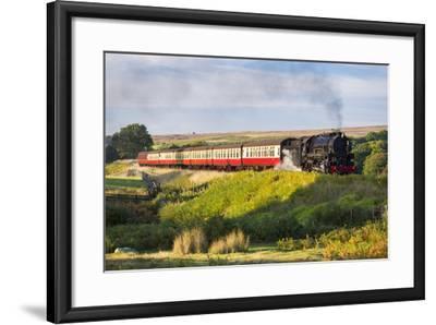 United Kingdom, England, North Yorkshire, Goathland-Nick Ledger-Framed Photographic Print