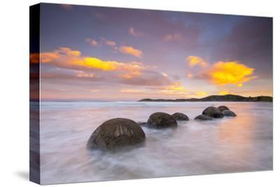 Moeraki Boulders, South Island, New Zealand-Doug Pearson-Stretched Canvas Print
