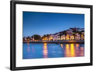 Sunset View of Lagos, Algarve, Portugal-Sabine Lubenow-Framed Photographic Print