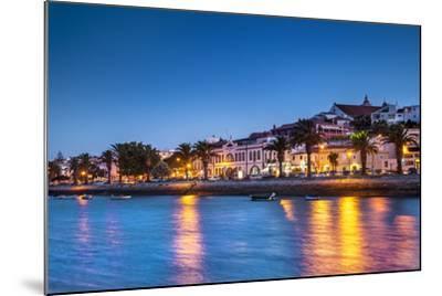 Sunset View of Lagos, Algarve, Portugal-Sabine Lubenow-Mounted Photographic Print