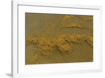 An Aerial View of the Dunes at Namib-Naukluft National Park, in the Namib Desert-Jonathan Irish-Framed Photographic Print