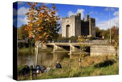 Bunratty Castle on the River Shannon in County Clare, Ireland-Chris Hill-Stretched Canvas Print
