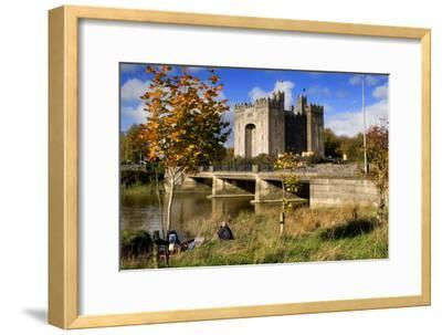 Bunratty Castle on the River Shannon in County Clare, Ireland-Chris Hill-Framed Photographic Print