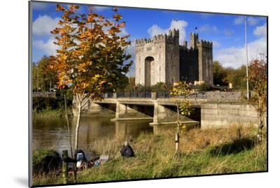Bunratty Castle on the River Shannon in County Clare, Ireland-Chris Hill-Mounted Photographic Print