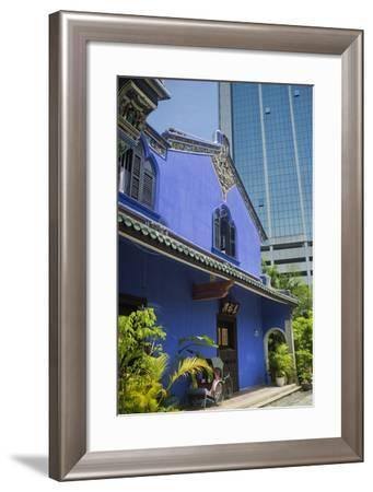 The Cheong Fatt Tse Mansion Near the George Town World Heritage Site-Scott S^ Warren-Framed Photographic Print