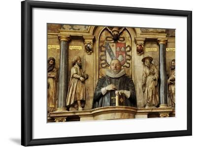 Sir Henry Savile, a Scholar and Translator of the King James Bible-Jim Richardson-Framed Photographic Print