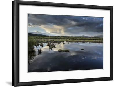 Reflections of Clouds in a Body of Water Near the Sawatch Mountains-Keith Ladzinski-Framed Photographic Print