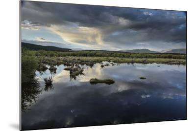 Reflections of Clouds in a Body of Water Near the Sawatch Mountains-Keith Ladzinski-Mounted Photographic Print