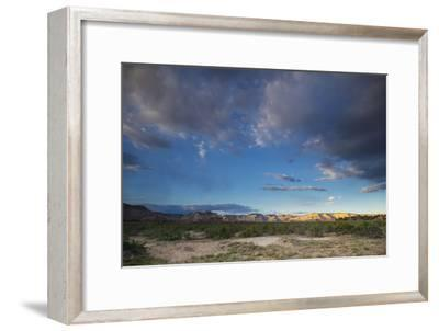 The Fossil Rich Badlands of Grand Staircase-Escalante National Monument-Cory Richards-Framed Photographic Print