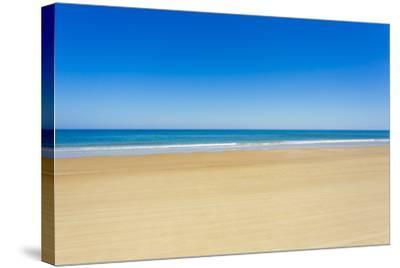 A Pristine Beach at Cabo Polonio, Accessible Only by Four-Wheel Drive Vehicles-Mike Theiss-Stretched Canvas Print