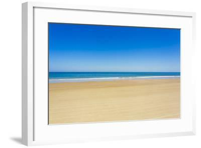 A Pristine Beach at Cabo Polonio, Accessible Only by Four-Wheel Drive Vehicles-Mike Theiss-Framed Photographic Print