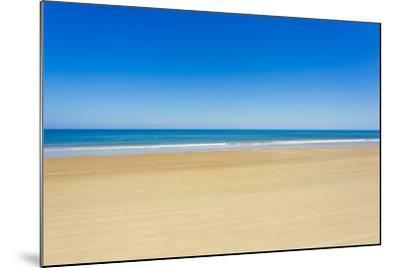 A Pristine Beach at Cabo Polonio, Accessible Only by Four-Wheel Drive Vehicles-Mike Theiss-Mounted Photographic Print