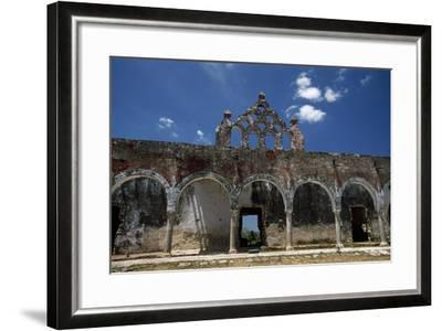 The Ruins of the Once Elegant Hacienda Mucuyche-Macduff Everton-Framed Photographic Print