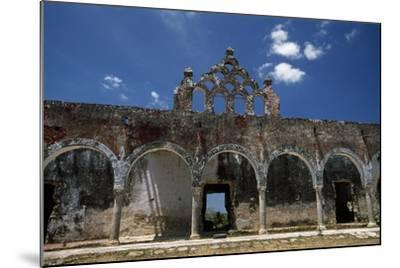 The Ruins of the Once Elegant Hacienda Mucuyche-Macduff Everton-Mounted Photographic Print