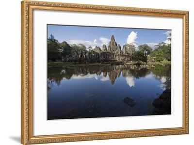 Bayon, the Premier Temple Within Angkor Thom-Scott S^ Warren-Framed Photographic Print