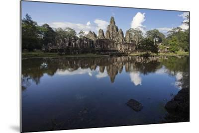 Bayon, the Premier Temple Within Angkor Thom-Scott S^ Warren-Mounted Photographic Print