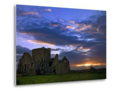 Sunset at Hore Abbey in Tipperary-Chris Hill-Metal Print