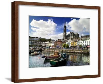 Cobh Harbour, County Cork, Ireland-Chris Hill-Framed Photographic Print