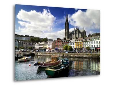 Cobh Harbour, County Cork, Ireland-Chris Hill-Metal Print