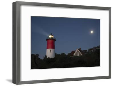 Nauset Light, Eastham, Cape Cod, Massachusetts-Michael Melford-Framed Photographic Print