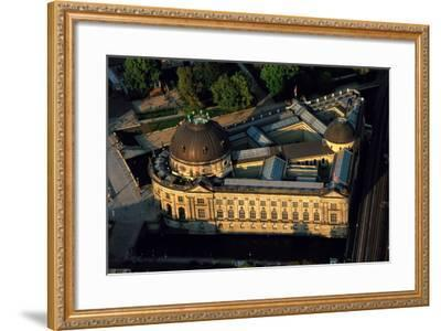 An Aerial View of the Bode Museum-Marcello Bertinetti-Framed Photographic Print
