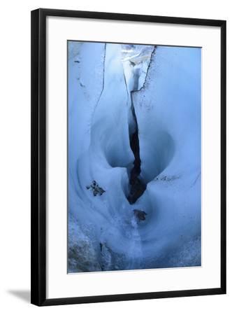 Detail of Melt-Sculpted Blue Glacier Ice-Keith Ladzinski-Framed Photographic Print