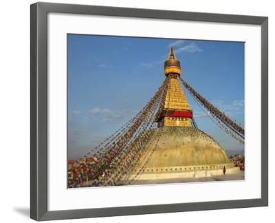 The Bodhnath Stupa in Kathmandu-Martin Gray-Framed Photographic Print