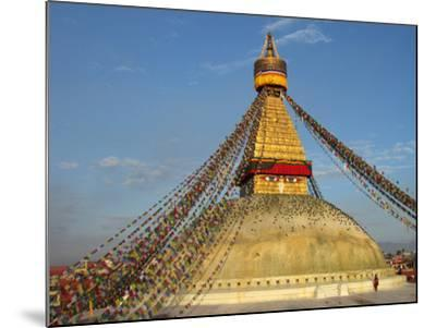 The Bodhnath Stupa in Kathmandu-Martin Gray-Mounted Photographic Print
