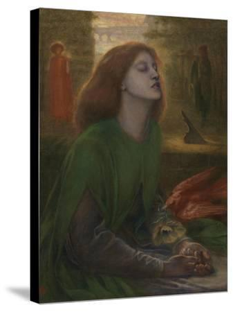 Beata Beatrix-Dante Gabriel Rossetti-Stretched Canvas Print