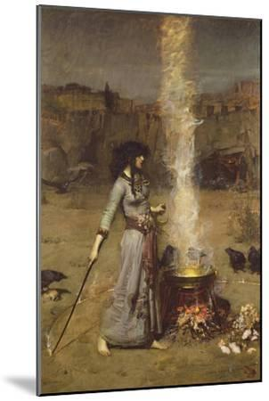 The Magic Circle-John William Waterhouse-Mounted Premium Giclee Print