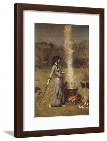The Magic Circle-John William Waterhouse-Framed Giclee Print