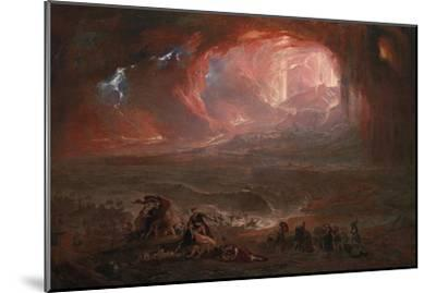 The Destruction of Pompei and Herculaneum-John Martin-Mounted Giclee Print