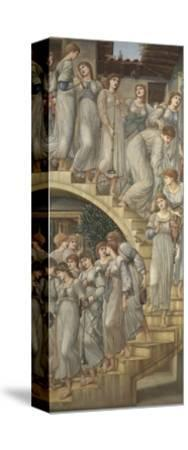 The Golden Stairs-Edward Burne-Jones-Stretched Canvas Print
