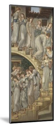 The Golden Stairs-Edward Burne-Jones-Mounted Giclee Print