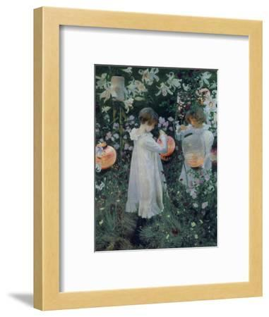 Carnation, Lily, Lily, Rose-John Singer Sargent-Framed Giclee Print