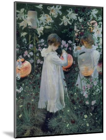 Carnation, Lily, Lily, Rose-John Singer Sargent-Mounted Giclee Print