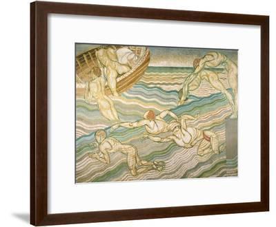 Bathing-Duncan Grant-Framed Giclee Print