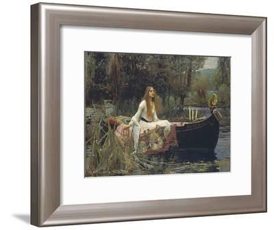 The Lady of Shalott-John William Waterhouse-Framed Giclee Print